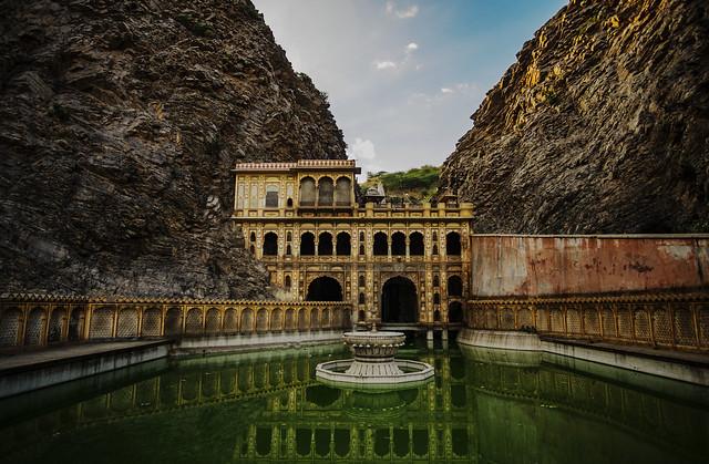 El templo de los monos, Jaipur