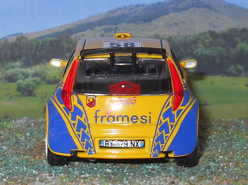 Fiat Punto S1600 - Montecarlo 2003