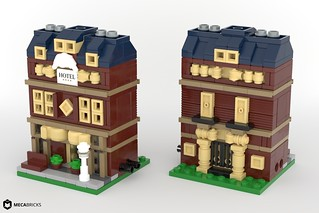 Grand Hotel - Mini Modular Building MOC | by BrickJonas