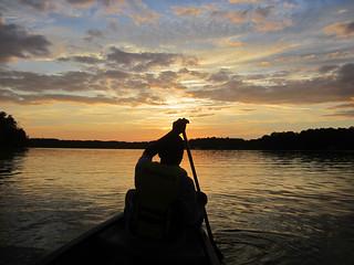 Sunset paddle smith mountain lake state park   by vastateparksstaff