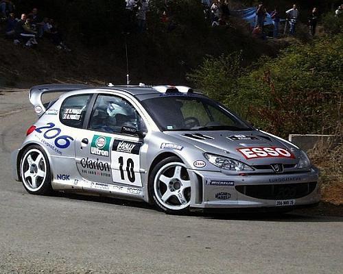 Peugeot 206 WRC – Córcega 2000