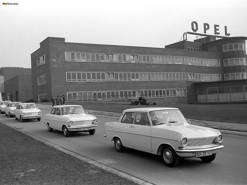 Opel Kadett A – 1962