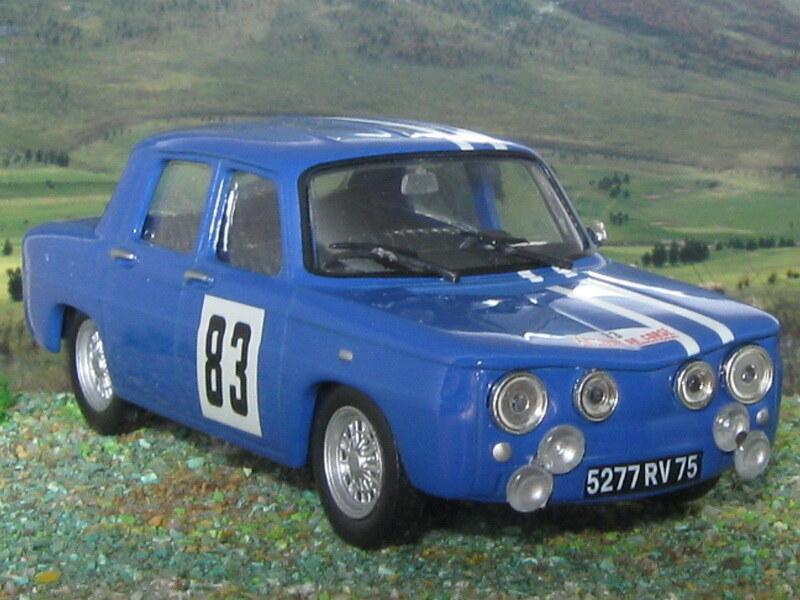 Renault 8 Gordini – Córcega 1966
