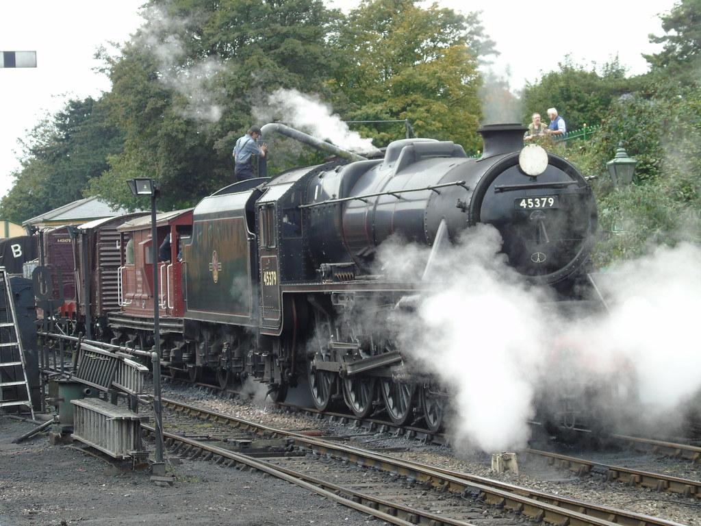 45379 LMS Stanier Class 5 4-6-0 Ropley Mid Hants Railway (Sep 17 2017) 4