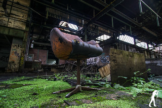 Lost Places: Messer- und Klingenfabrik | by smartphoto78