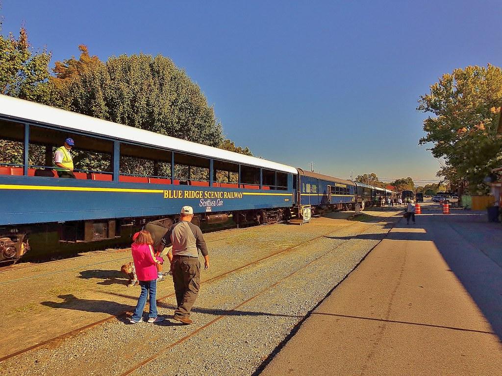 Blue Ridge Scenic Railway : things to do in North Georgia