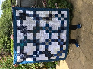 June quilt for Siblings Together
