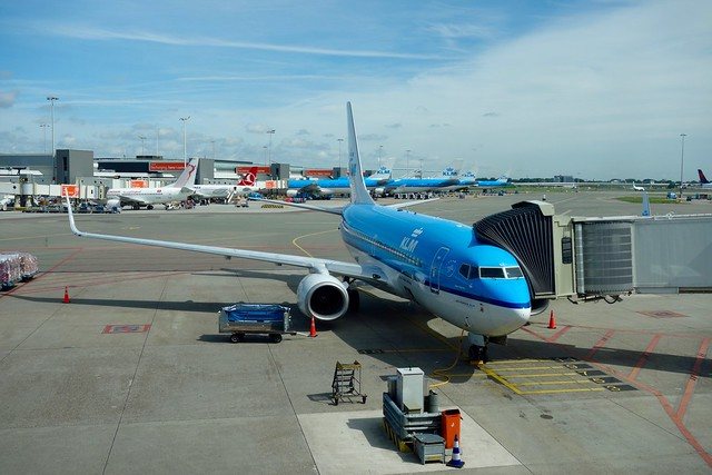 KL1825 Ready for Boarding / Schiphol