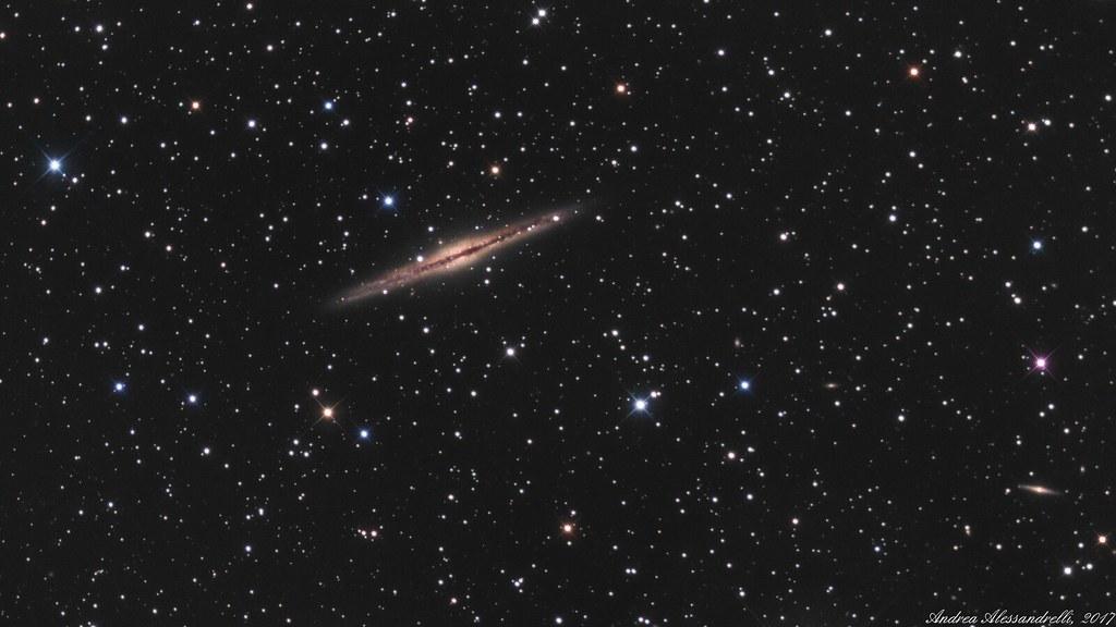 NGC 891 (Caldwell 23) and NGC 898