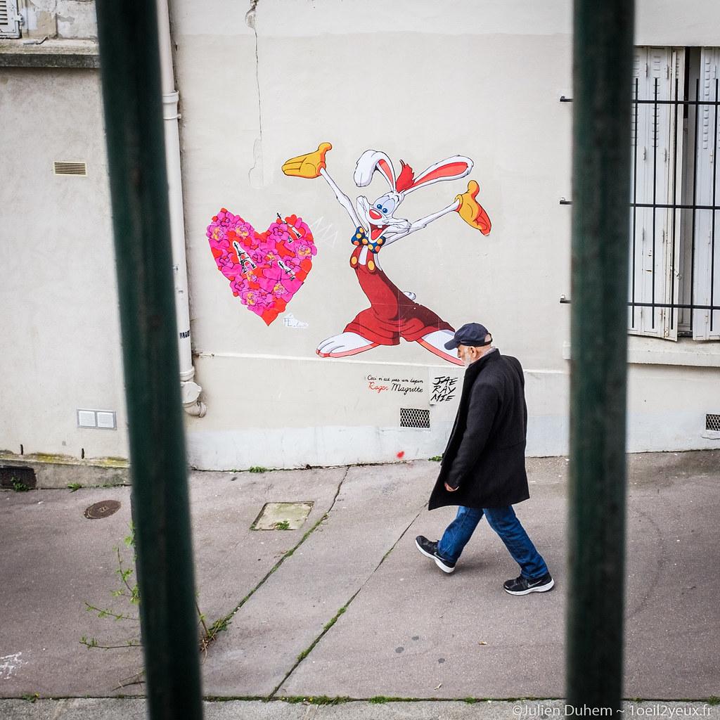 Ceci Nest Pas Un Lapin >> Art Passants 3 Ceci N Est Pas Un Lapin Julien Flickr