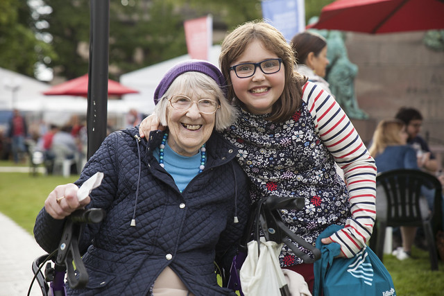 There's lots for young and old at the Book Festival