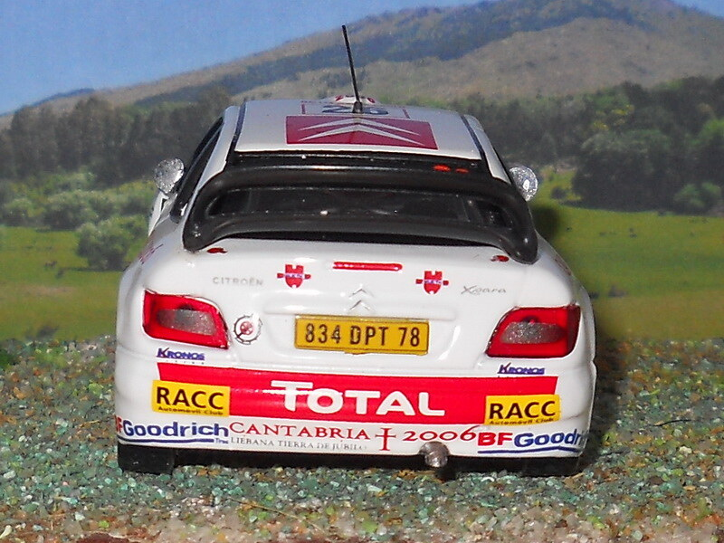 Citroën Xsara WRC – Montecarlo 2006
