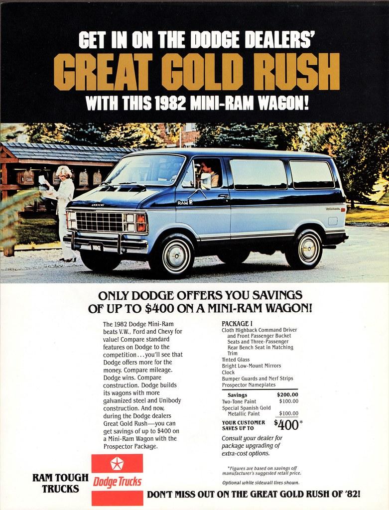 1982 DODGE MINI RAM WAGON ALDEN JEWELL FLICKR