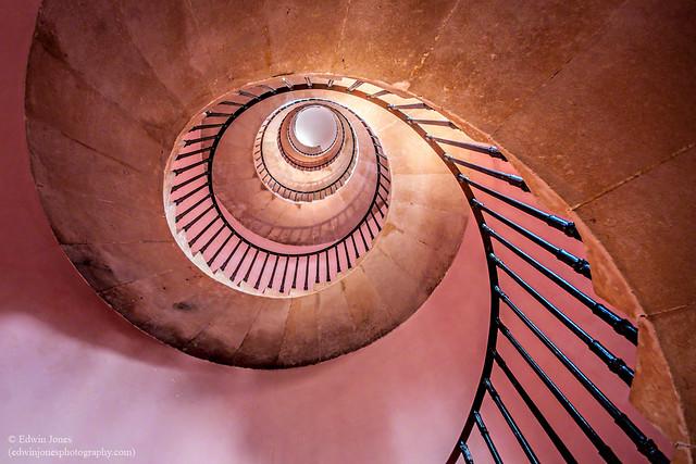 Beckford's Tower Pink Spiral