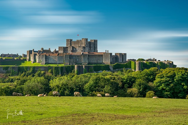 The Castle.  Dover, Kent, England.