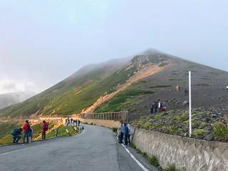 乗鞍岳 県境ゲートから富士見岳 | by ichitakabridge
