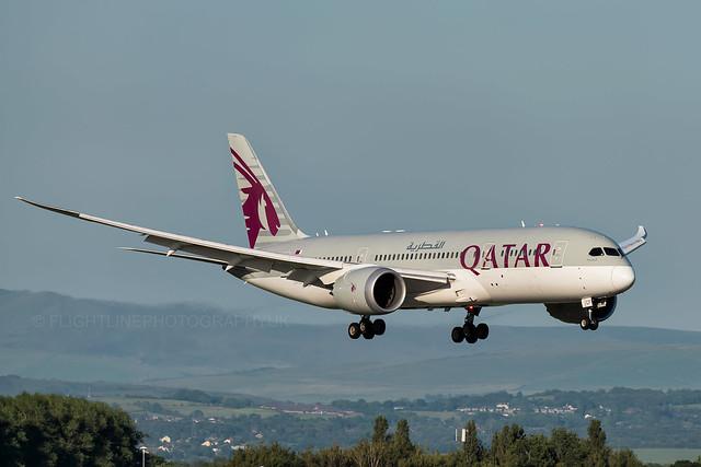 A7-BCF | Qatar Airways | Boeing 787 | Manchester | June 2017