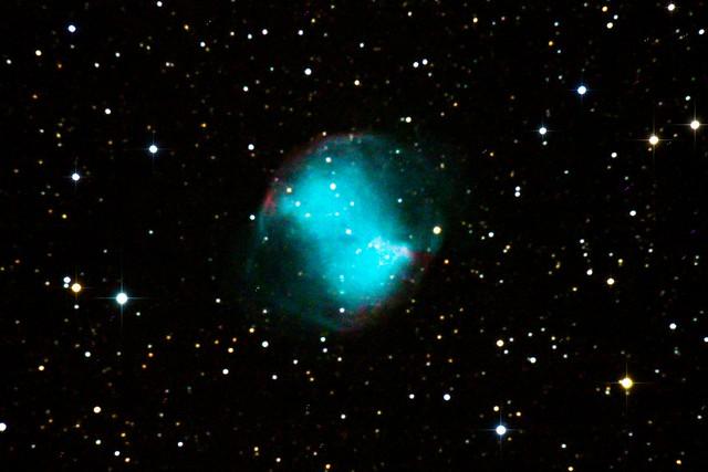 M27 Dumbell Nebula (Reprocess) (Explored!)
