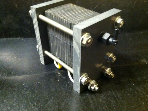 HHO Dry Cell - Hydrogen on Demand / Fuel Cell / Electrolyzer