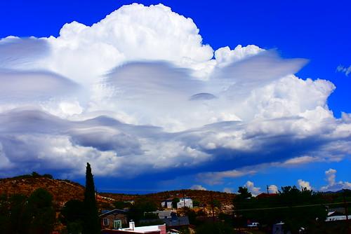 arizona kingman landscape weather rain route66 stormy clouds