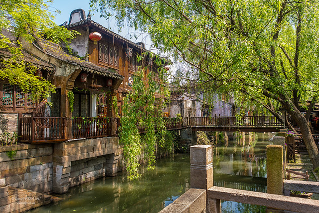 Fengjing Ancient Town, Shanghai, China  (吴越古镇枫泾)
