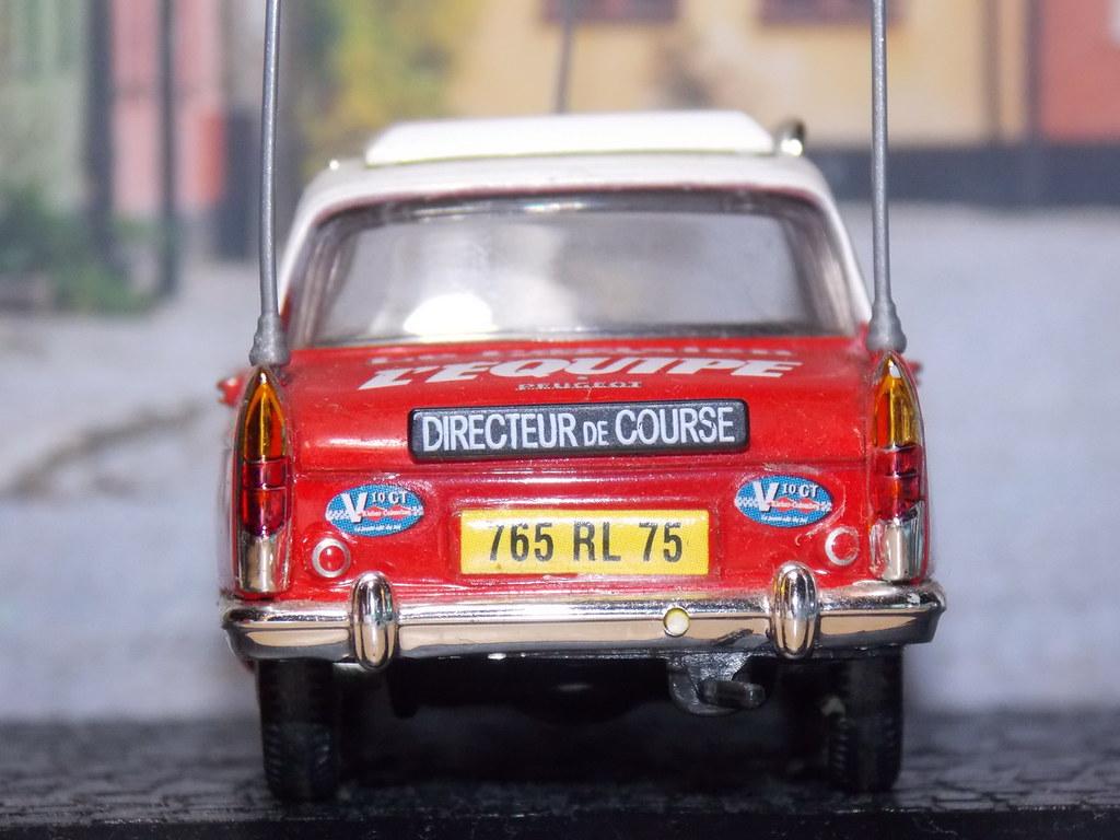 Peugeot 404 – 1968 – Tour de France