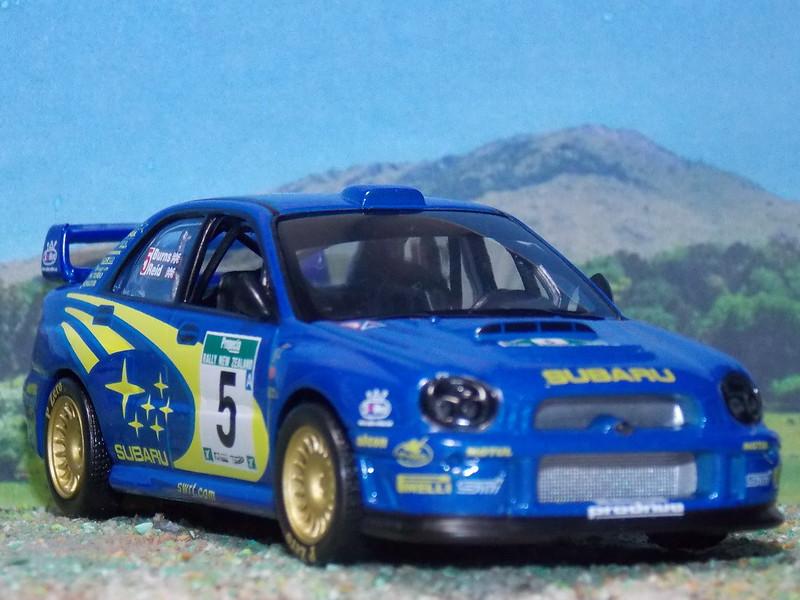 Subaru Impreza WRC – Nueva Zelanda 2001