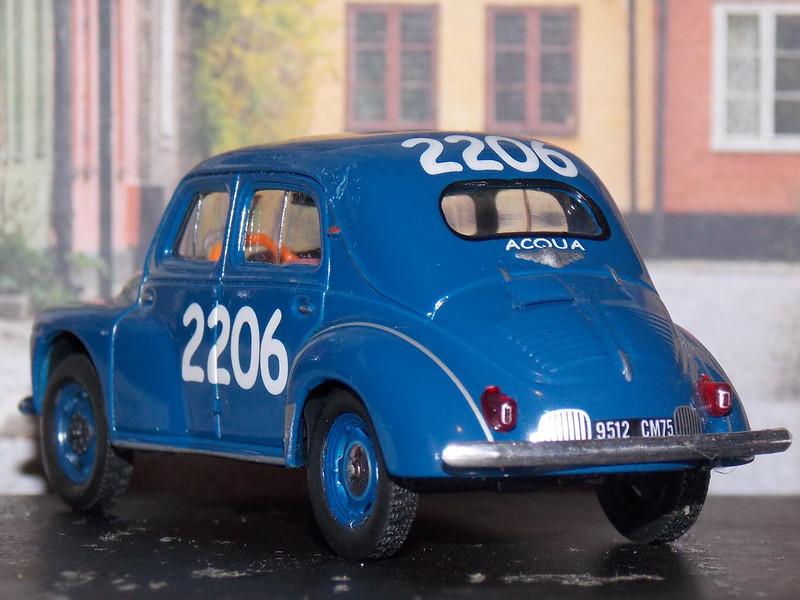 Mille Miglia - Eligor - 4CV Renault