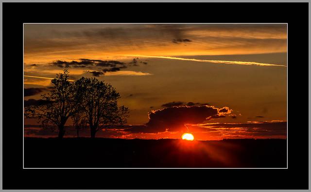 Die Sonne verabschiedet sich (Sun says goodbye..)