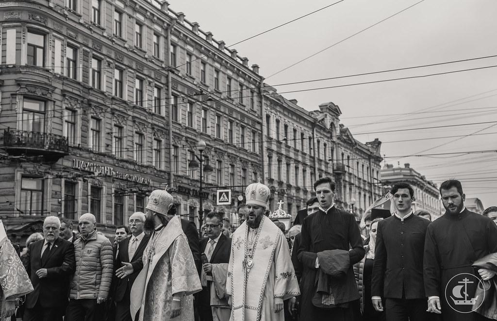 12 сентября 2017, День памяти перенесения мощей святого Александра Невского / 12 September 2017, Remembrance day Translation of the relics of St. Alexander Nevsky