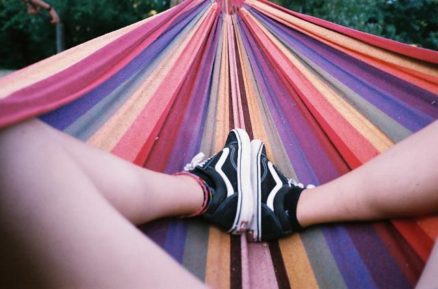 Me in the hammock