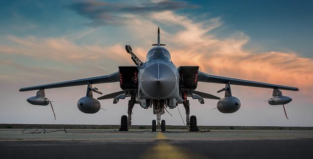 "Tornado at Rest ZA447 (019)A Gulf War 1 Veteran.""Mig Eater"""