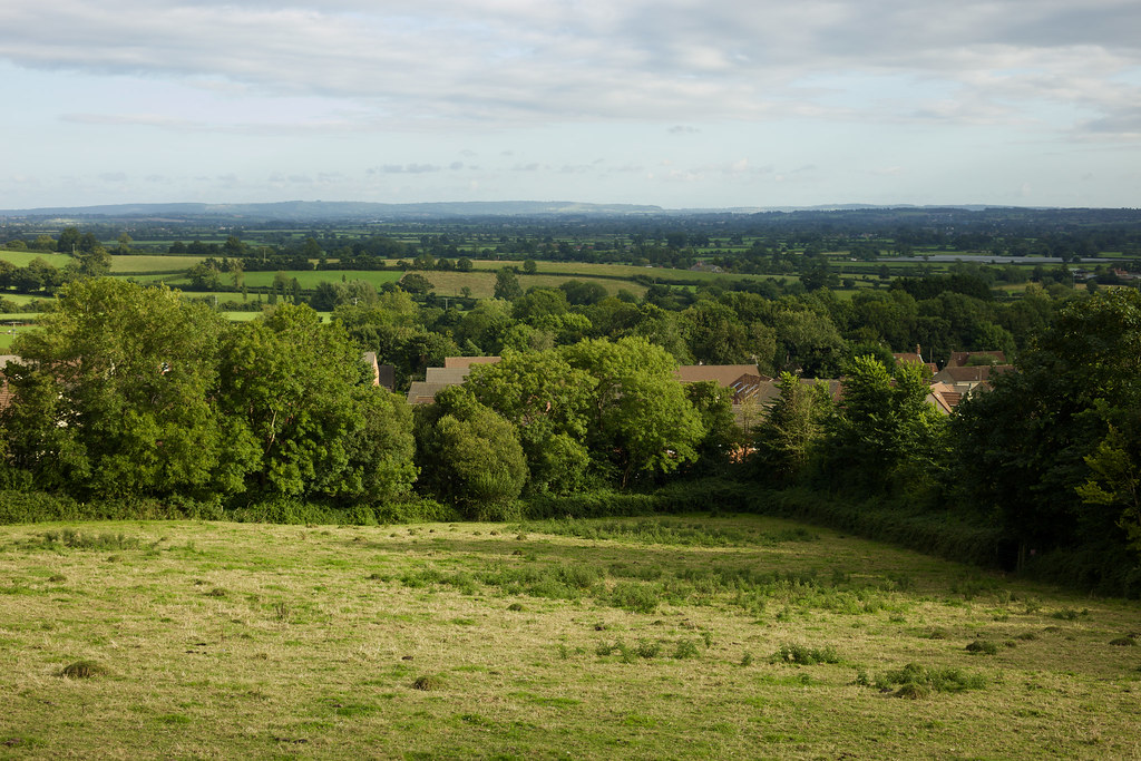 The Blackmore Vale From Bayford Hill, Wincanton, 6/8/2017.
