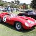 Pebble Beach Farrari Display 8-20-2017