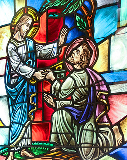 Jesus Gives the Keys to St Peter | by Lawrence OP
