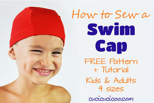 Tutorial + FREE Swim Cap Pattern for Kids & Adults