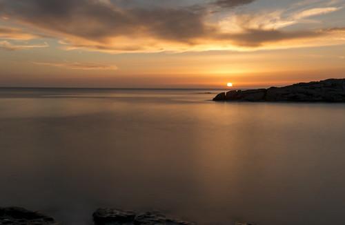hilarioperez atardecer mar cielo solpor corme nubes costadamorte sunset backlight soft gold clouds puestadesol