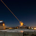 The Sodium Guidestar at the Air Force Research Laboratory's Starfire Optical Range resides on a 6,240 foot hilltop at Kirtland Air Force Base, N.M. It is theorized that arrays of such ground-based lasers could one day propel spacecraft by focusing their beam of photons on a sail attached to the vessel. (photo/U.S. Army)