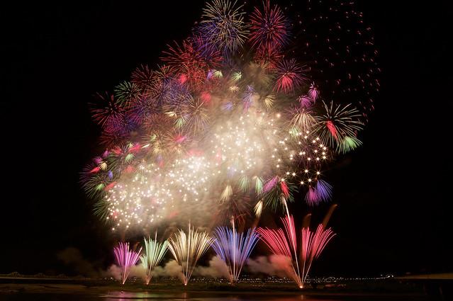 長岡まつり大花火2017 Fireworks in Nagaoka Festival 2017