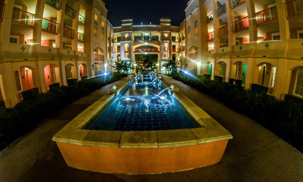 Coronado Springs fountain