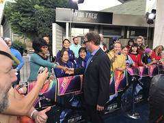 Rainn Wilson & Cosplayers at the Star Trek Discovery Premiere - IMG_0047
