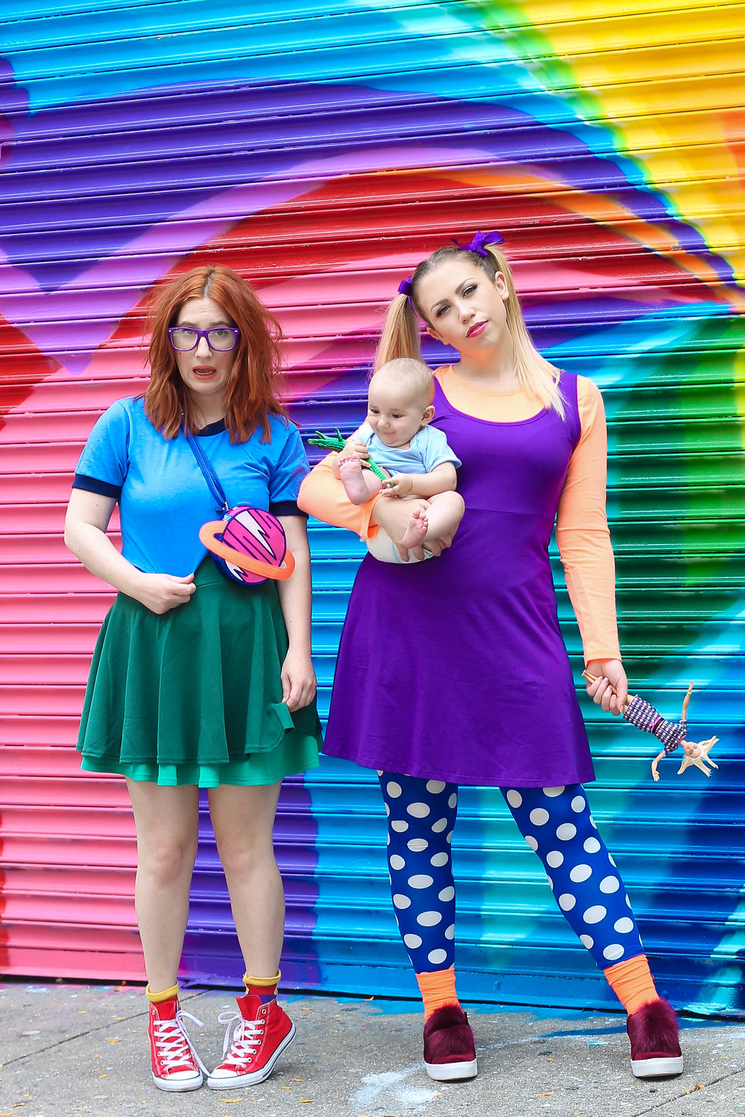 Rugrats Nickelodeon Angelica Tommy Pickles Chuckie Finster DIY Costume | Last Minute Halloween Costumes You Can Amazon Prime