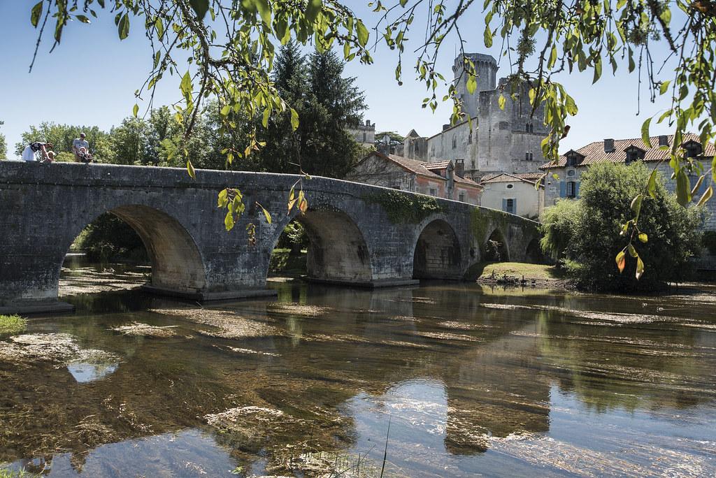 Beautiful Bourdeilles France.