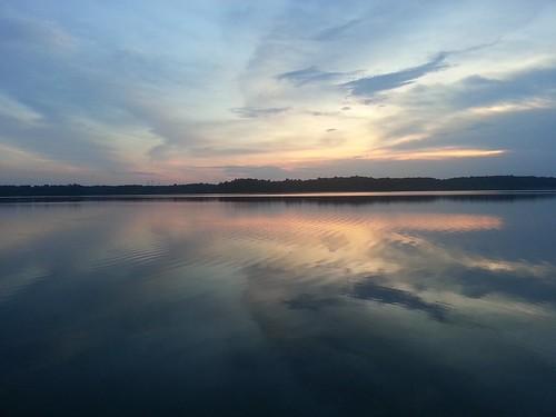sunset reflections raleighnorthcarolina