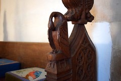 pelican in her piety (Eyke woodworkers, 20th Century)