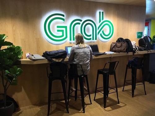 Grab office in Singapore | by jonrussell