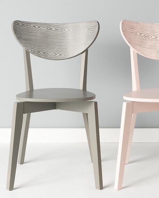 DIY Faux Bois Chairs