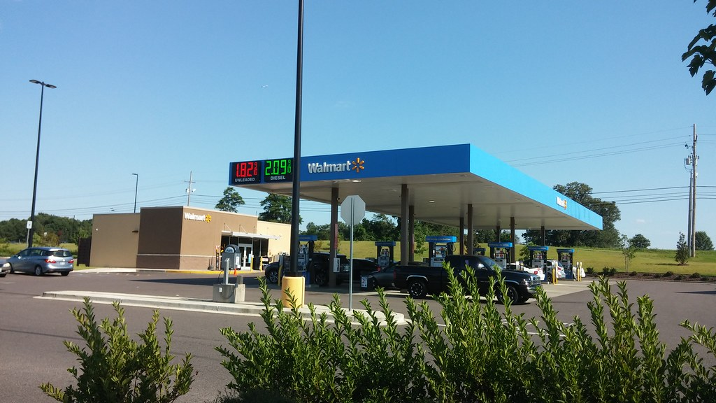 Walmart Gas Station Near Me >> Walmart Gas Station And Other Miscellaneous Description Ra Flickr
