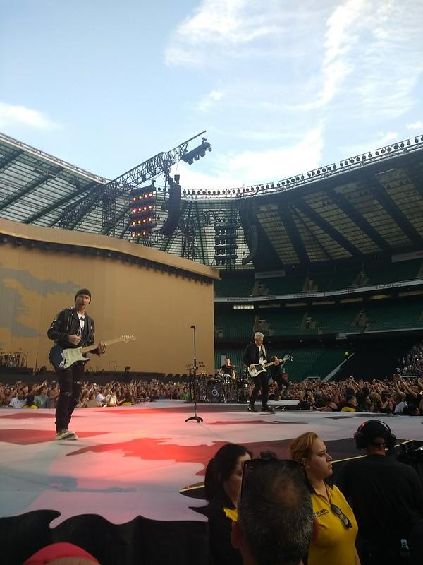 U2 - London, July 9, 2017