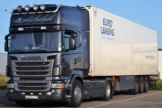 Scania R620 V8 - Dark Diamond - B620MX 178RUS